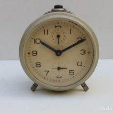 Despertadores antiguos: RELOJ DESPERTADOR MARCA META - REPARAR O PARA RECAMBIOS. Lote 239759810