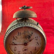 Despertadores antiguos: ANTIGUO RELOJ DESPERTADOR. Lote 240799425