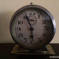 Despertadores antiguos: RELOJ DESPERTADOR .BAYARD .NIC. MADE IN FRANCE..FUNCIONA.CARGA MANUAL. Lote 240865365
