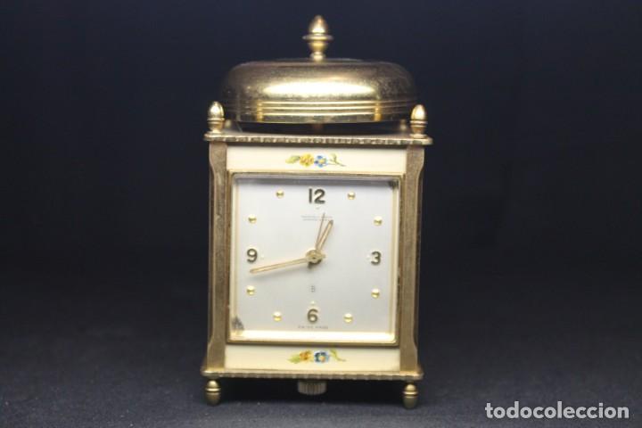 RELOJ MAPPIN & WEBB, BUENOS AIRES, CON MAQUINARIA LUXOR (Relojes - Relojes Despertadores)