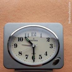 Despertadores antiguos: DESPERTADOR MARCA FESTINA QUARTZ.. Lote 243172485
