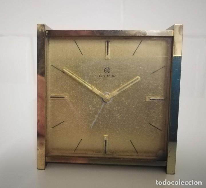 Despertadores antiguos: Reloj despertador cyma - Foto 3 - 243956900