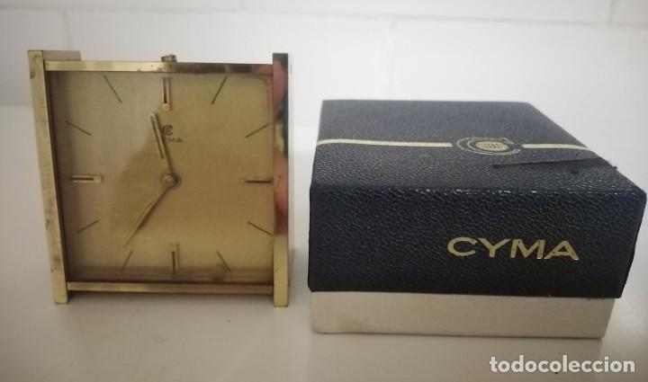 Despertadores antiguos: Reloj despertador cyma - Foto 4 - 243956900