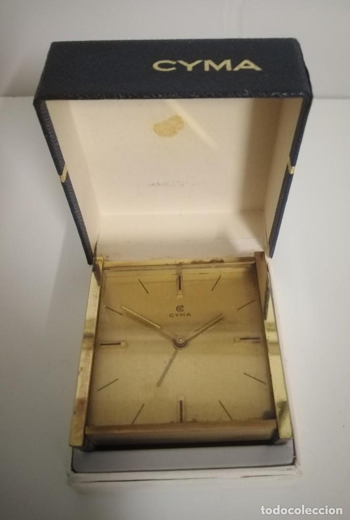 Despertadores antiguos: Reloj despertador cyma - Foto 5 - 243956900