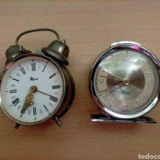Despertadores antiguos: RELOJES ANTIGUOS. Lote 244840420