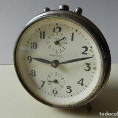 Despertadores antiguos: RELOJ DESPERTADOR CARTEL. Lote 245029255