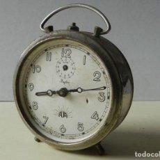 Despertadores antiguos: RELOJ DESPERTADOR ALBA ZAFIRO. Lote 245029730