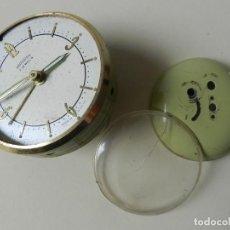 Despertadores antiguos: DESPIECE RELOJ DESPERTADOR OBAYARDO 2 JEWELS FABRICADO EN ESPAÑOLA. Lote 245038685