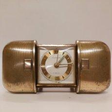 Despertadores antiguos: RELOJ DESPERTADOR EUROPA 7 JEWELS. Lote 245174815