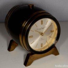 Despertadores antiguos: RELOJ SWIZA 8 DÍAS - BARRIL - COMERCIAL HIGGINS SA MARACAIBO -. Lote 245305005