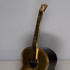 Despertadores antiguos: RELOJ DESPERTADOR MUSICAL SWIZA GUITARRA. Lote 245448595
