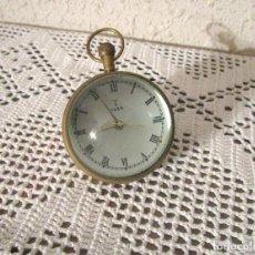 Despertadores antiguos: ANTIGUO Y ORIGINAL RELOJ DE SOBREMESA MARCA 1939. TAMAÑO PEQUEÑO TIPO DESPERTADOR. Lote 245503160