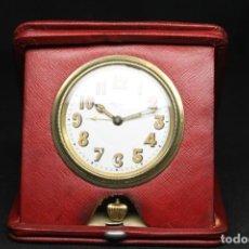 Despertadores antiguos: RELOJ DESPERTADOR BERTHOUD LOCHE, DE VIAJE. Lote 245687985