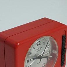 Despertadores antiguos: RELOJ DESPERTADOR EGATER QUARZ GERMANI. Lote 246183900