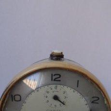 Despertadores antiguos: RELOJ DESPERTADOR MARCA CARTEL. Lote 247725465