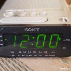 Despertadores antiguos: DESPERTADOR DIGITAL SONY DREAM MACHINE ESCASO. Lote 248945160