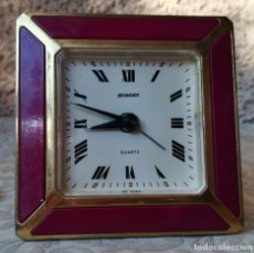 Despertadores antiguos: PRIMOROSO DESPERTADOR (QUARZ). Lote 249178960