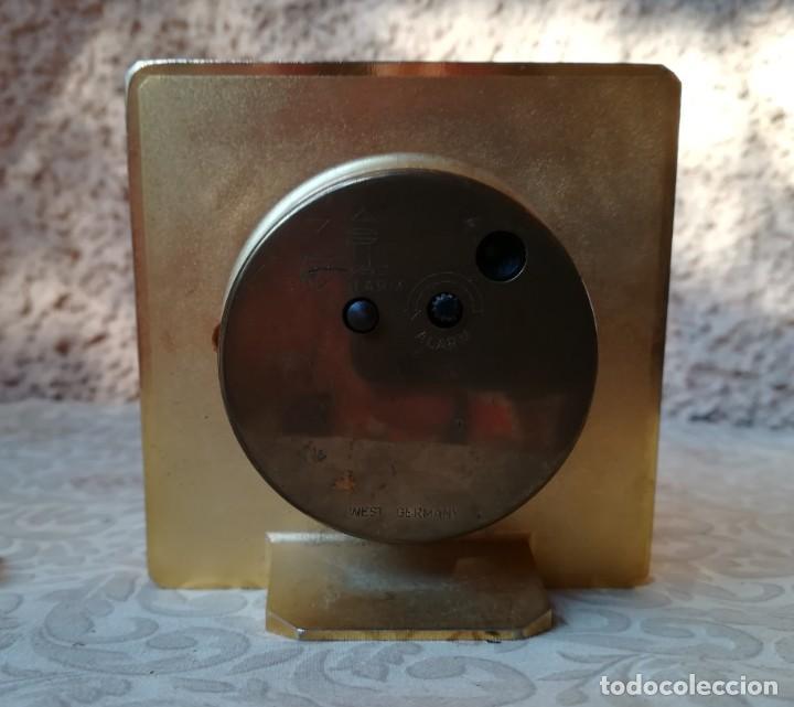 Despertadores antiguos: primoroso despertador (quarz) - Foto 2 - 249178960
