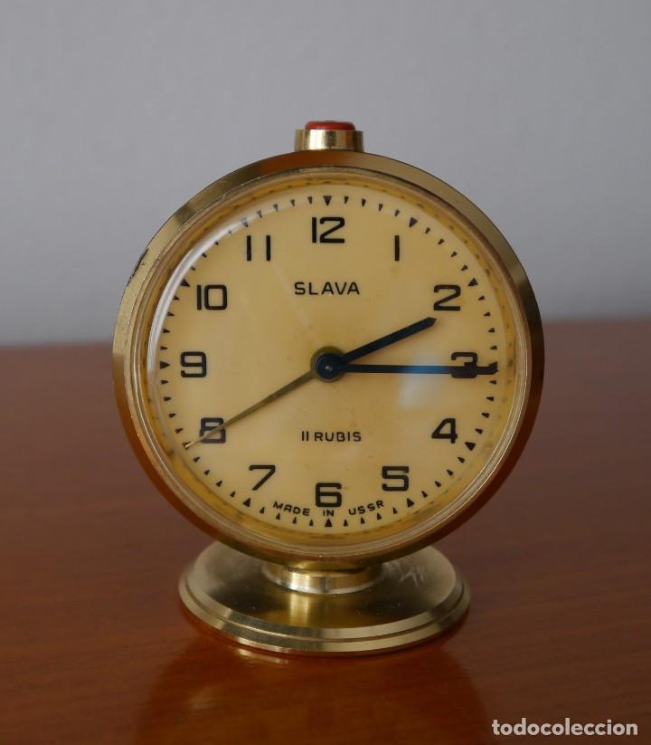 RELOJ DESPERTADOR SLAVA (Relojes - Relojes Despertadores)