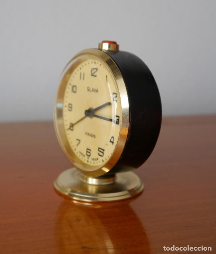 Despertadores antiguos: Reloj despertador Slava - Foto 2 - 252057330