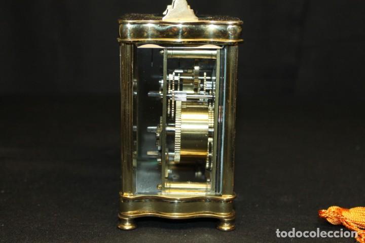 Despertadores antiguos: RELOJ CARRIAGE CLOCK O RELOJ DE CABECERA, FRANCÉS DESPERTADOR - Foto 5 - 252469930