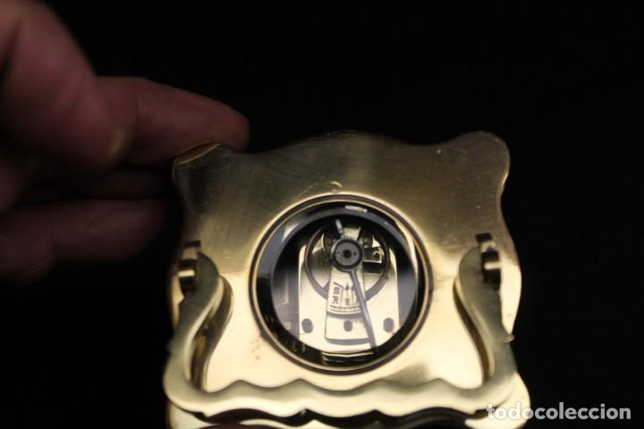 Despertadores antiguos: RELOJ CARRIAGE CLOCK O RELOJ DE CABECERA, FRANCÉS DESPERTADOR - Foto 8 - 252469930