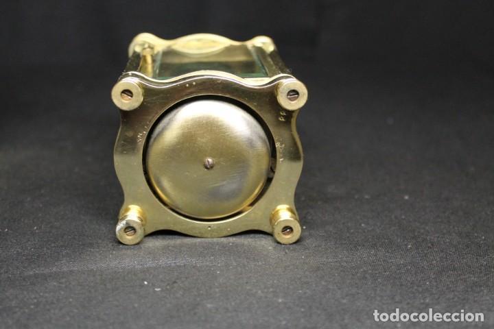 Despertadores antiguos: RELOJ CARRIAGE CLOCK O RELOJ DE CABECERA, FRANCÉS DESPERTADOR - Foto 9 - 252469930