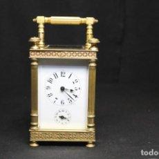 Despertadores antiguos: RELOJ DE CABECERA D.H. FRANCE, CARRIAGE CLOCK, DESPERTADOR. Lote 252474380