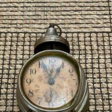 Despertadores antigos: ANTIGUO DESPERTADOR PRINCIPIOS DEL AÑO 1900. Lote 252632425