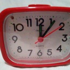 Despertadores antiguos: RELOJ OLIMPUS-DESPERTADOR Y LUZ-MADE IN JAPAN. Lote 254501935
