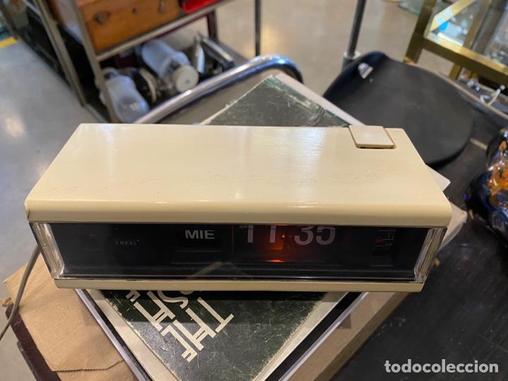 Despertadores antiguos: RELOJ DESPERTADOR FLIP FLOP MARCA COPAL MODELO 229 MADE IN JAPAN AÑOS 70 - Foto 2 - 254502940