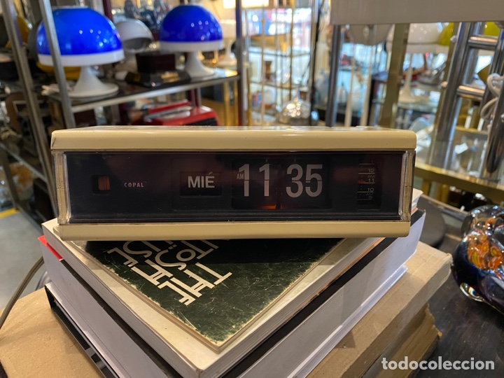 RELOJ DESPERTADOR FLIP FLOP MARCA COPAL MODELO 229 MADE IN JAPAN AÑOS 70 (Relojes - Relojes Despertadores)