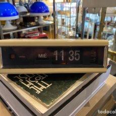 Despertadores antiguos: RELOJ DESPERTADOR FLIP FLOP MARCA COPAL MODELO 229 MADE IN JAPAN AÑOS 70. Lote 254502940