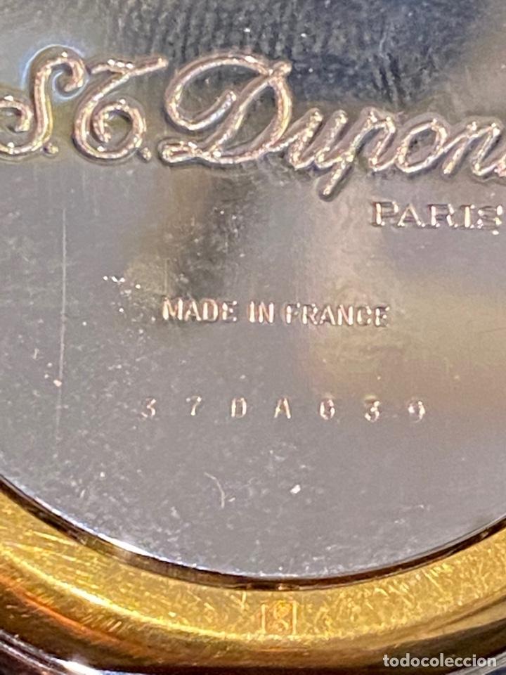 Despertadores antiguos: RELOJ DESPERTADOR QUARTZ DE VIAJE MARCA DUPONT EN ACERO , AÑOS 80 - Foto 5 - 254558415