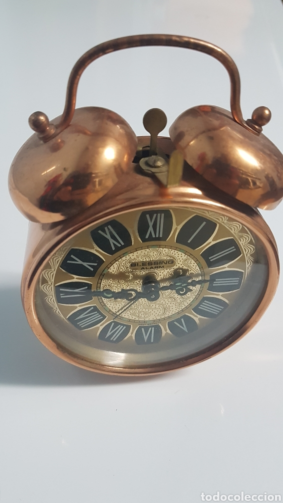 RELOJ DESPERTADOR BESING AÑOS 70 (Relojes - Relojes Despertadores)