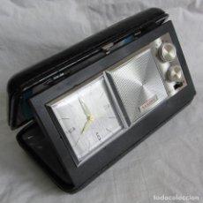 Réveils anciens: RADIO RELOJ DESPERTADOR SAXONY AÑOS 70, COMO NUEVO. Lote 260072860