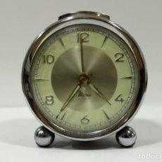 Despertadores antiguos: RELOJ DESPERTADOR MICRO 2 JEWELS.. Lote 260667175