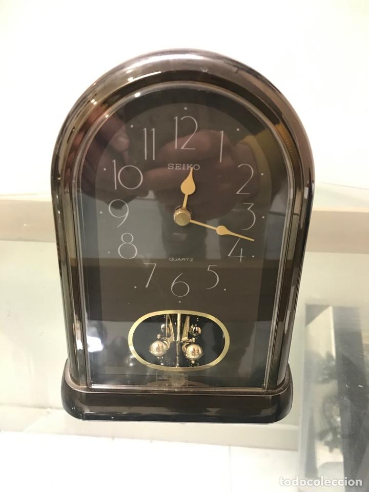 RELOJ DE MESA SEIKO QUARTZ (Relojes - Relojes Despertadores)
