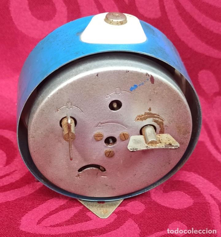 Despertadores antiguos: Despertador vintage - Años 50 - MARCA MIHLA - MADE IN GERMANY - Funciona - 80 mm esfera - Foto 3 - 261265700