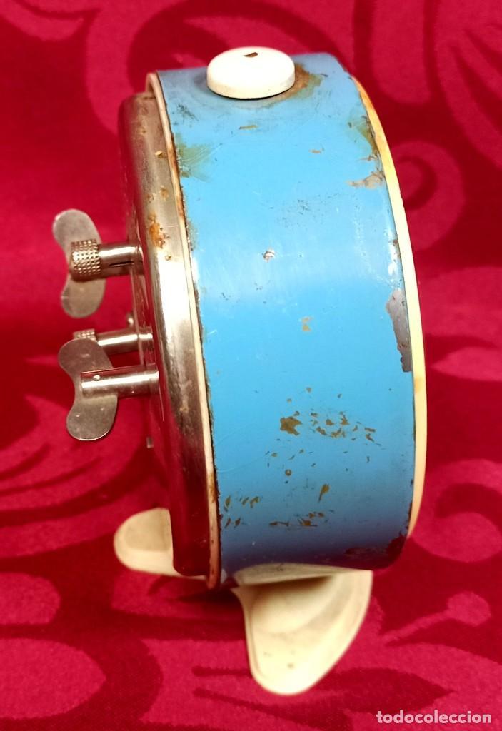 Despertadores antiguos: Despertador vintage - Años 50 - MARCA ROSTOV - MADE IN USSR URSS - Funciona - 90 mm esfera - Foto 4 - 261266235