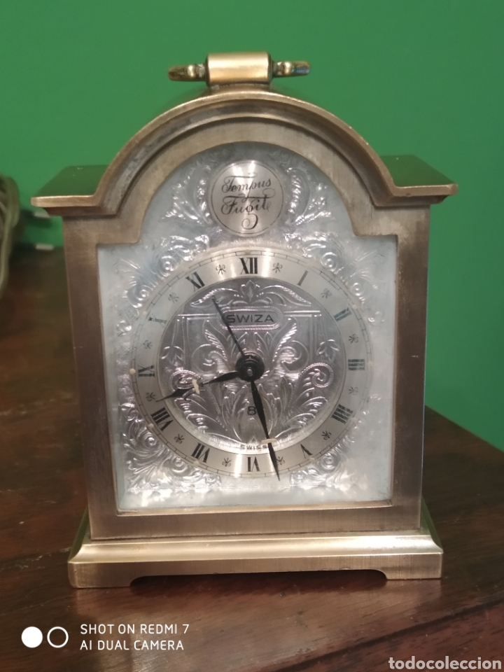 RELOJ-DESPERTADOR SWIZA 8 DÍAS (Relojes - Relojes Despertadores)