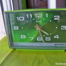 Despertadores antiguos: ANTIGUO RELOJ IMPEX, MADE IN JAPAN. Lote 262491675