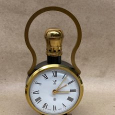 Despertadores antiguos: RELOJ DESPERTADOR JAZ CARGA MANUAL. Lote 262553435