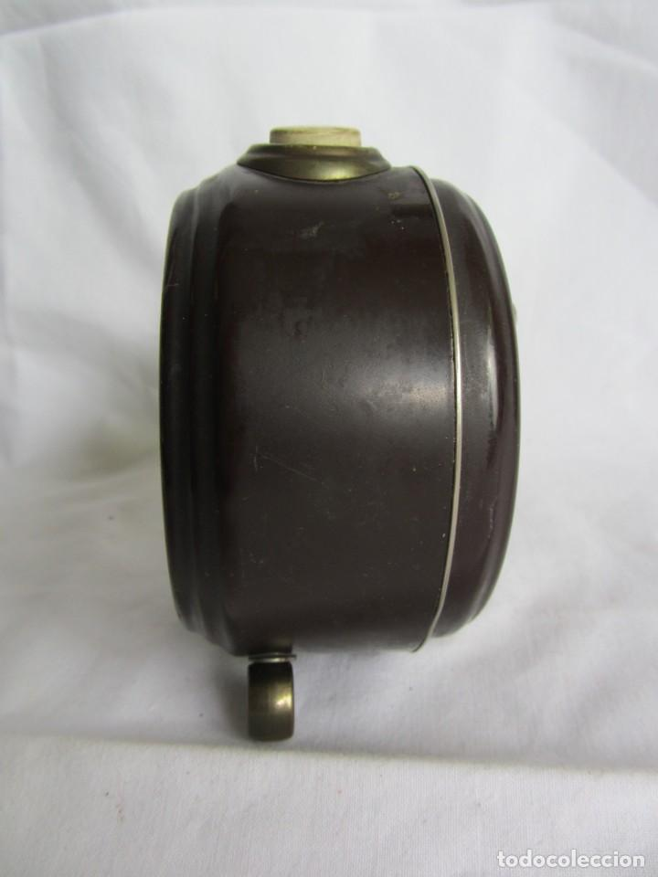Despertadores antiguos: Reloj despertador de sobremesa Wilco, funcionando - Foto 4 - 262594920
