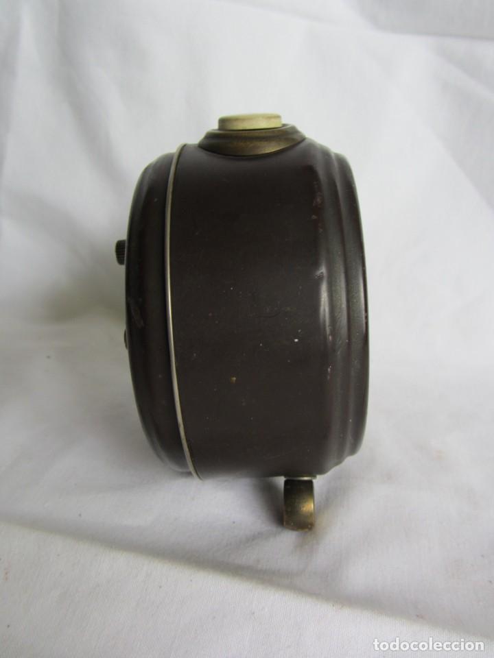 Despertadores antiguos: Reloj despertador de sobremesa Wilco, funcionando - Foto 5 - 262594920