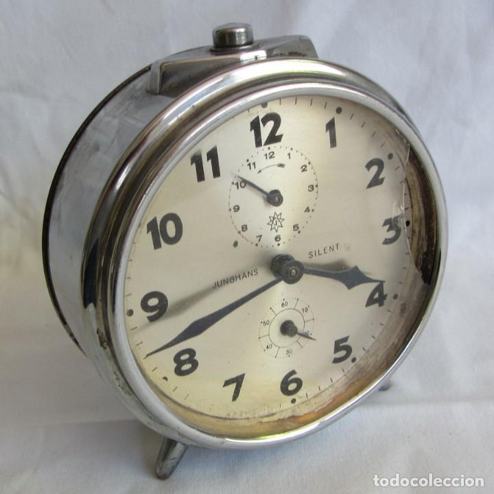 RELOJ ESPERTADOR JUGHANS FUCNIONADO (Relojes - Relojes Despertadores)