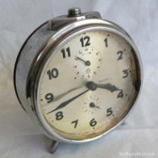 Despertadores antiguos: RELOJ ESPERTADOR JUGHANS FUCNIONADO. Lote 262918495