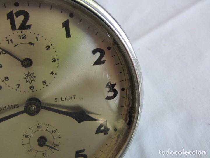 Despertadores antiguos: Reloj espertador Jughans fucnionado - Foto 3 - 262918495