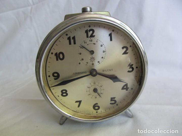 Despertadores antiguos: Reloj espertador Jughans fucnionado - Foto 5 - 262918495