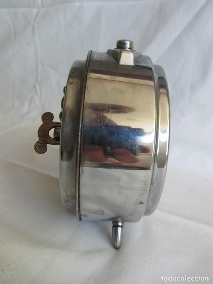 Despertadores antiguos: Reloj espertador Jughans fucnionado - Foto 7 - 262918495